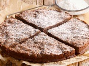 Švediškas šokoladinis pyragas