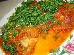 Graikiškai pagaminta žuvis