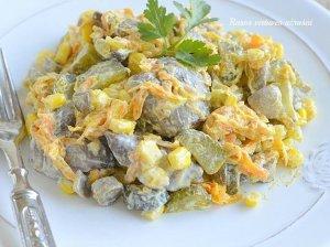 Greitos kepenėlių salotos be majonezo