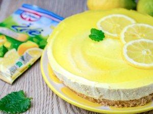 Nekeptas citrininis sūrio tortas