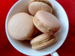 Migdoliniai Macarons sausainiai