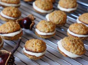 Morkų sausainiai su kremu