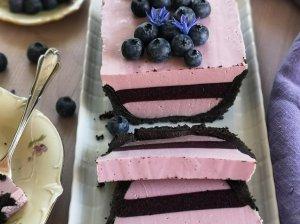 Nekeptas varškės desertas pyragas tortas
