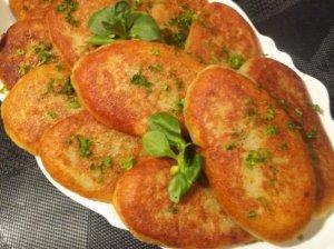 Bulviniai blynai su manais mėsa