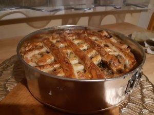 Žuvies upėtakio pyragas