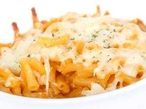 Makaronai su sūriu ir cukinija