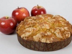 Karštas obuolių pyragas