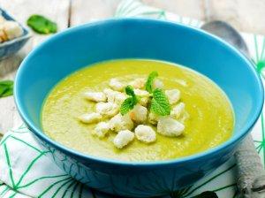 Trinta cukinijų ir brokolių sriuba