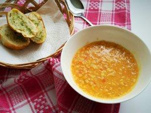 Pomidorų sriuba su lęšiais
