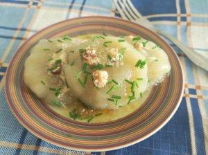 Virti tarkuotų bulvių kukuliai