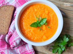 Keptų morkų sriuba