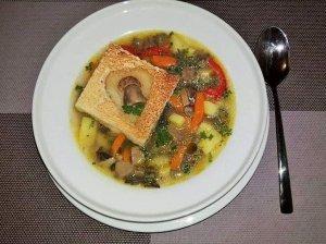 Rudens grybų sriuba