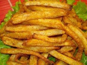 Bulvės, virtos riebaluose