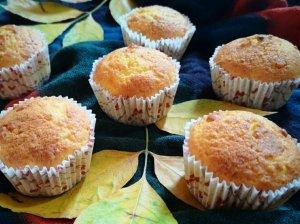 Varškiniai - apelsininiai keksiukai