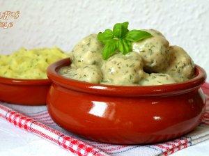 Maltos mėsos kukulaičiai grietinėlės padaže