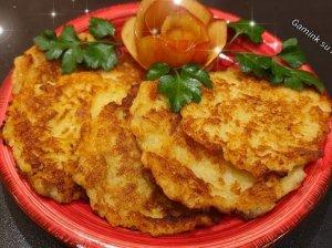 Minkšti bulvių ir obuolių blyneliai