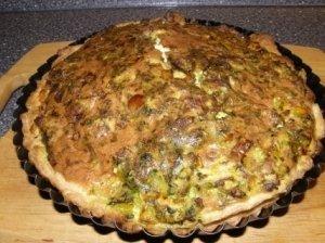 Pyragas su vištiena ir daržovėmis