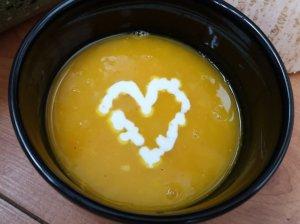 Pikantiška moliūgų sriuba