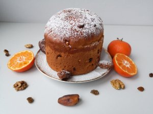 """Itališkas šventinis pyragas """"Panettone"""""""