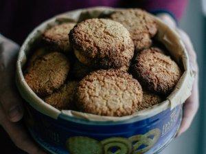 Migdolų miltų sausainiai
