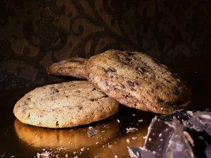New York Times sausainiai su šokolado gabaliukais