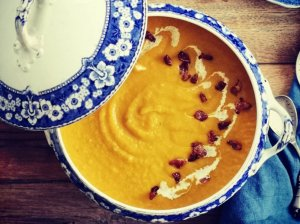 Trinta moliūgų ir kopūstų sriuba