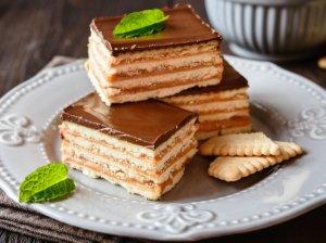 Greiti karameliniai sausainių pyragėliai