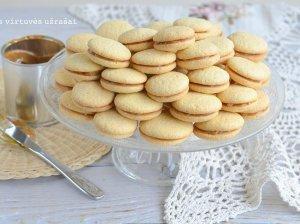 Minkšti sausainiai su Rududu (be kepimo miltelių)