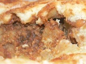 Pyragas su chalva ir obuoliais