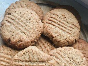 Žemės riešutų sviesto sausainiai