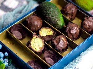 Avokado saldainiai