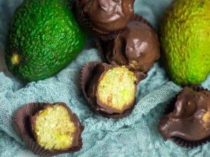 Avokado saldainiai be cukraus