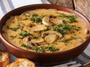 Vengriška pievagrybių sriuba