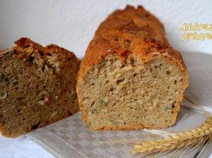 Ruginė duona be minkymo