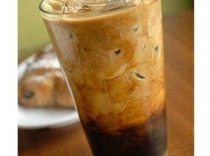 Ledinė kava su šokoladu