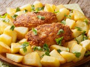 Tradiciniai vištienos kotletai Požarski