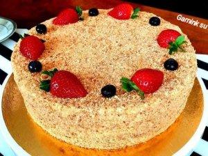 Medaus tortas pagal Audronę