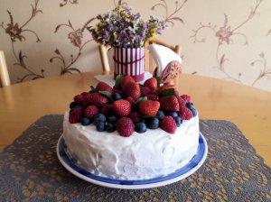 Gaivus vasariškas tortas