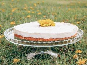 Nekeptas sūrio tortas - 5 ingredientai