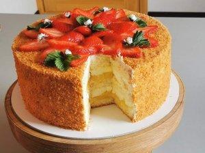 Labai apelsininis tortas su maskarponės kremu