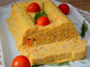 Pikantiška vištienos užtepėlė su morkomis