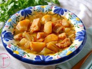 Ispaniška žuvies ir porų sriuba - Porrusalada
