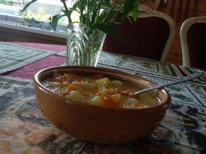 Gardi vaikiška sriuba