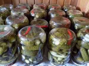 Kvapnūs konservuoti agurkai žiemai
