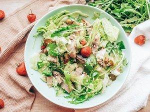 Gaivios silkės salotos su kuskusu
