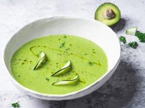 Trinta cukinijų ir avokadų sriuba