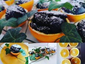 Alaus keksiukai apelsinų žievelėje