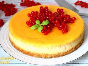 Keptas citrininis sūrio pyragas