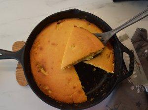 Kukurūzinis kefyro pyragas
