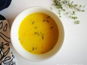 Morkų ir kuskuso sriuba su vištiena